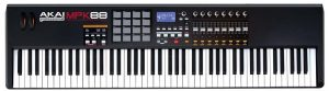 Akai's reputable 88 key MIDI keyboard with fully-weighted hammer action keys