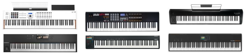 We rounded up our favorite picks as the best MIDI keyboards with fully-weighted keys