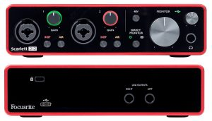 One of the most popular start audio interfaces