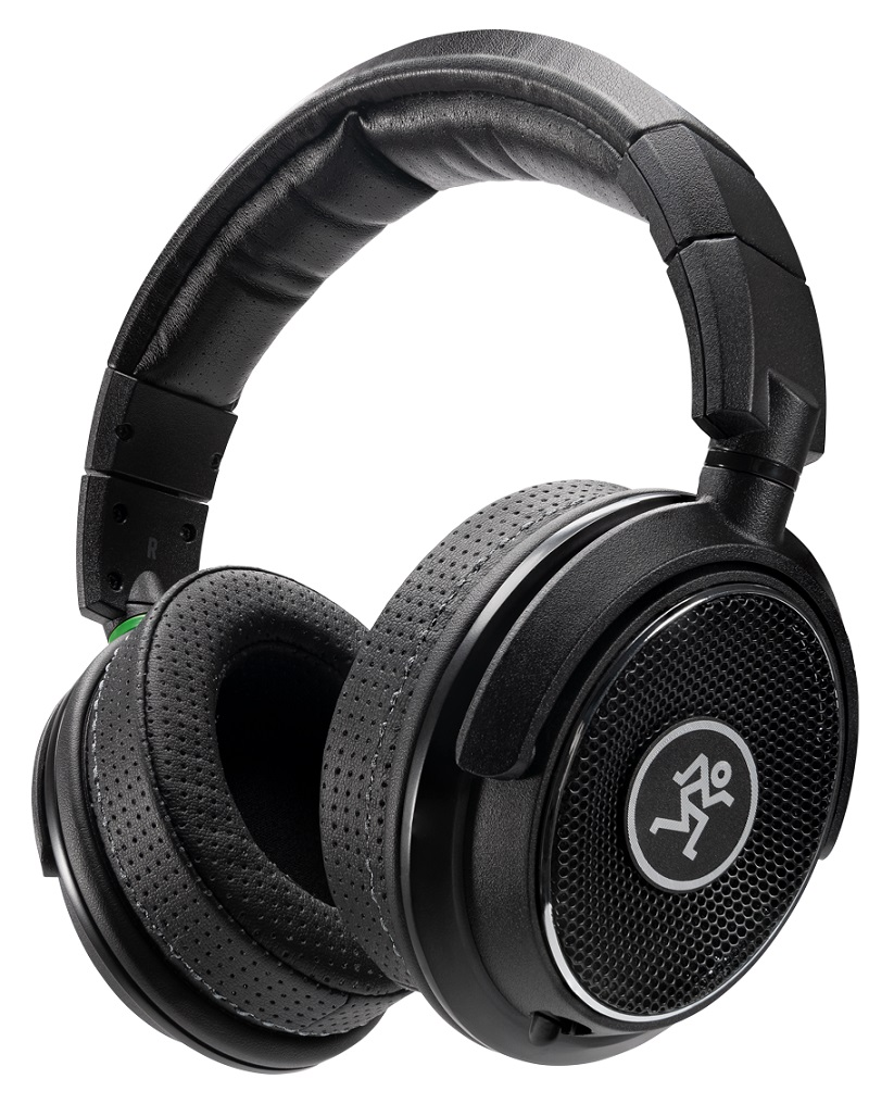 A solid pair of open-back headphones by Mackie