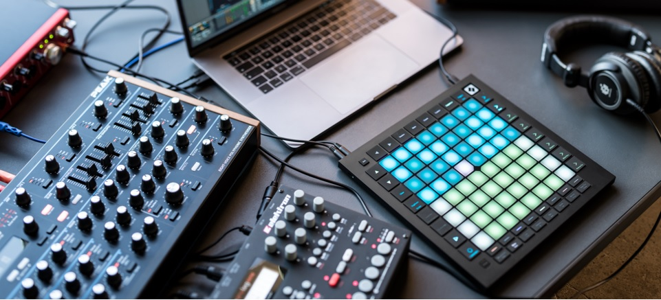 The MIDI controller for Ableton will fit great in your desk studio