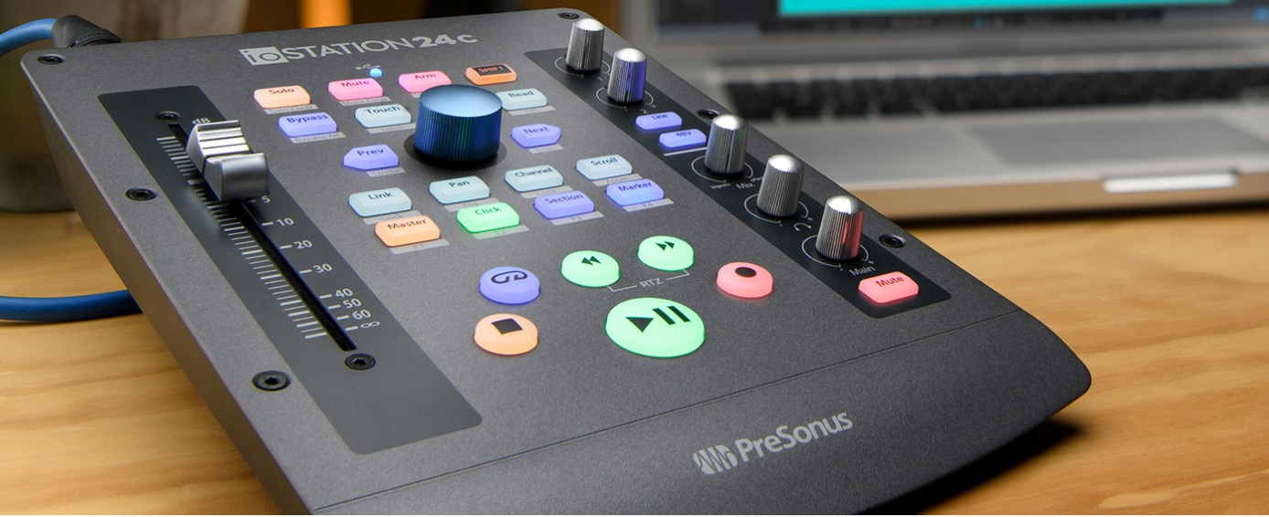 PreSonus ioStation 24C audio interface and controller review
